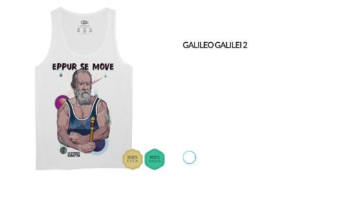 "Canotta Galileo Galilei ""Eppur se move"""