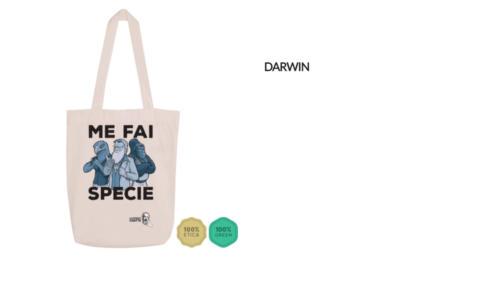 "Shopper Darwin ""Me fai specie"""