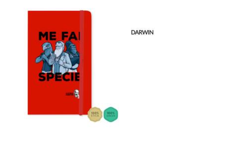 "Taccuino Darwin ""Me fai specie"""
