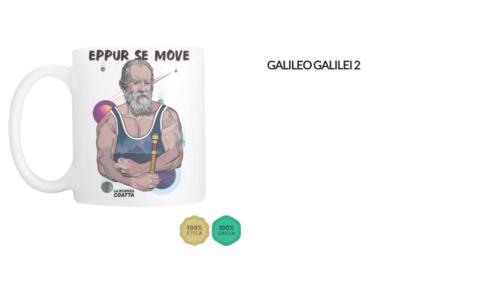 "Tazza Galileo Galilei ""Eppur se move"""