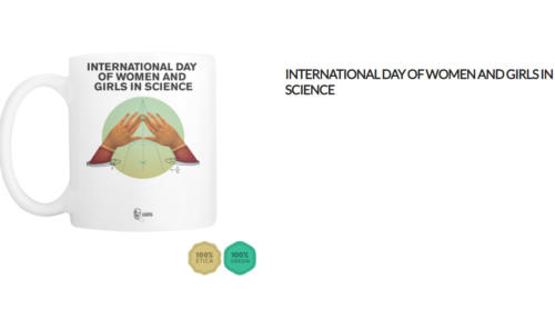 Tazza International day of women and girls in science