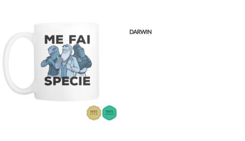 """Tazza Darwin """"Me fai specie"""""""