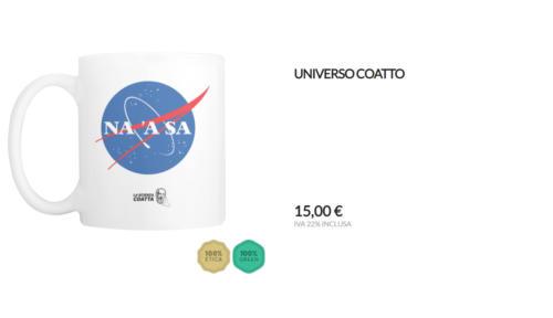 """Tazza Universo Coatto """"Na 'a sa"""""""