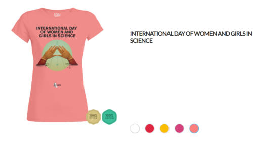 T-shirt International day of women and girls in science