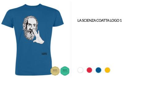 T-shirt Logo La Scienza Coatta