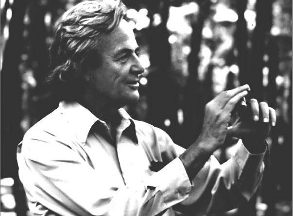 Richard Feynman interazioni
