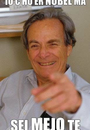Richard Feynman Nobel