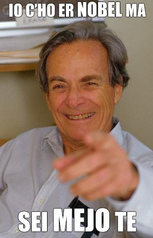 Richard Feynman Nobel