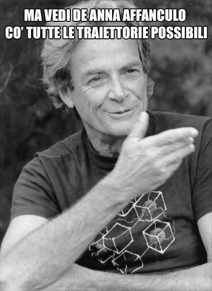 Richard Feynman traiettorie