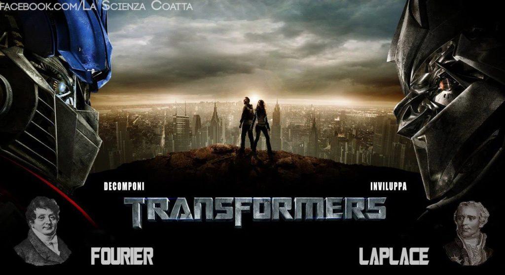 Laplace Fourier Transformers