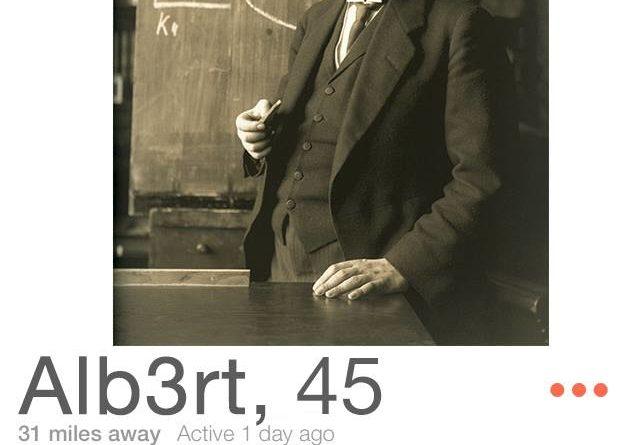 Albert Einstein Tinder