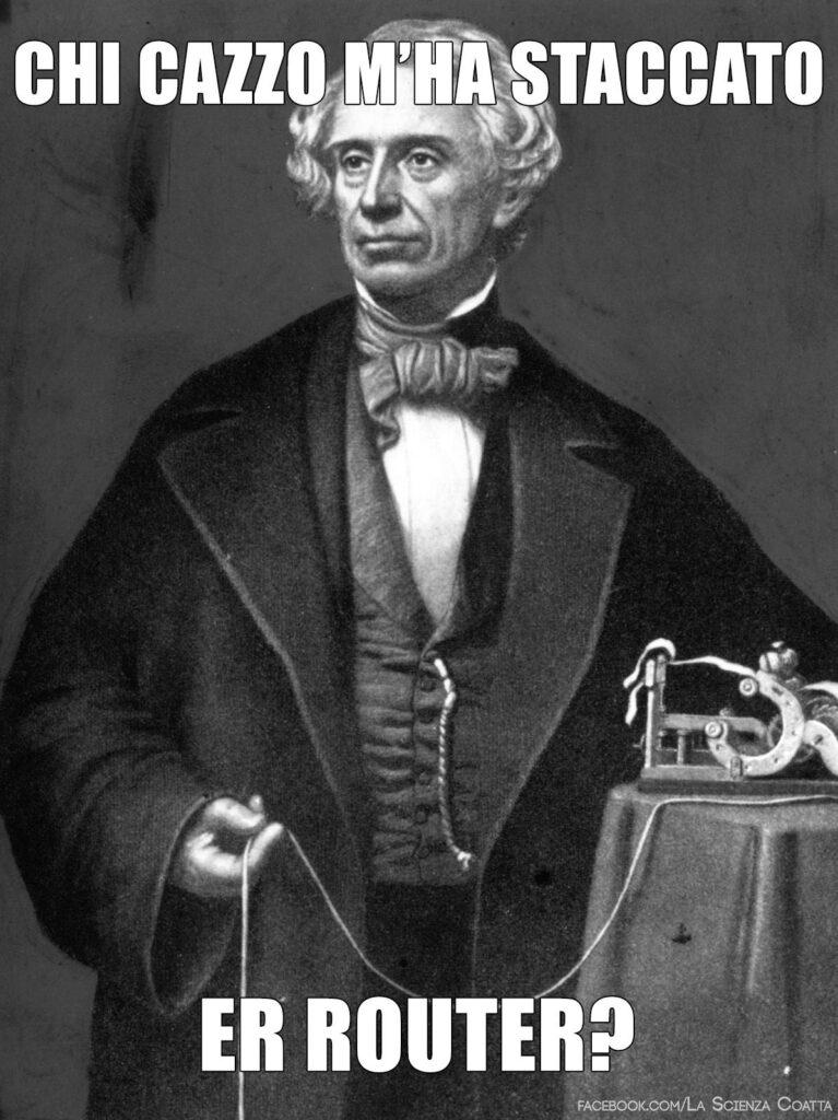 Samuel Morse router