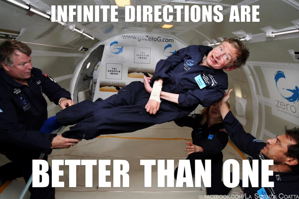 Stephen Hawking directions