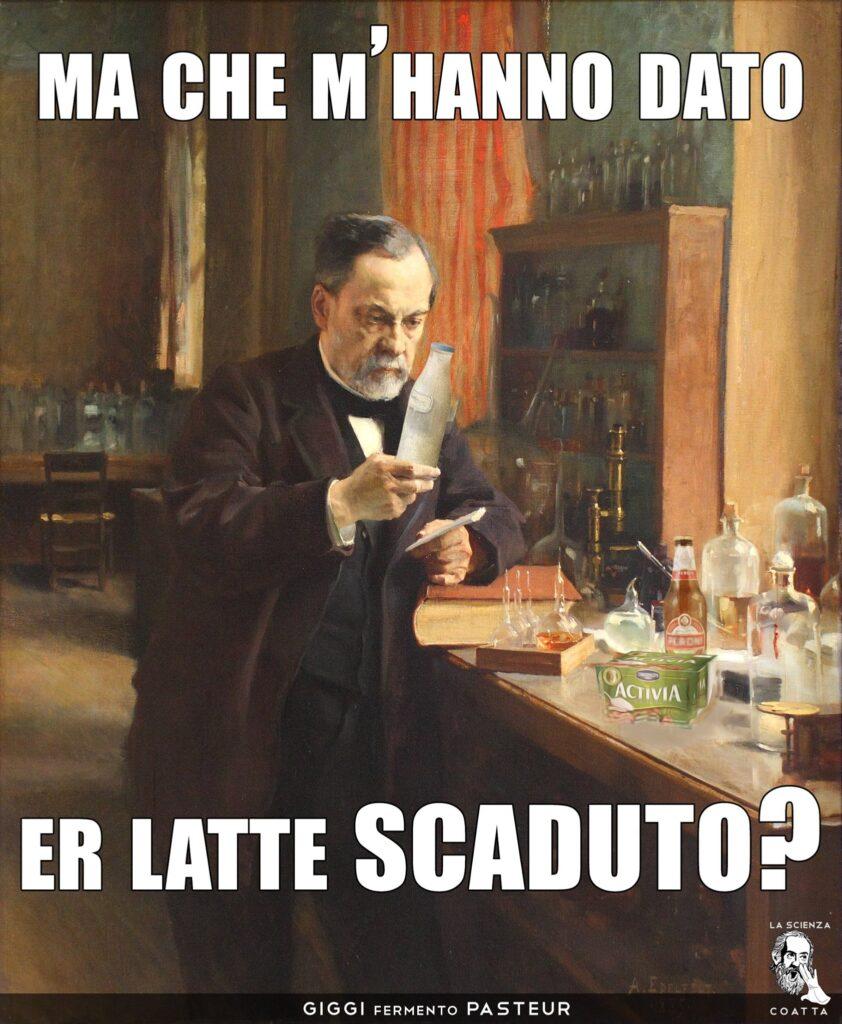 Pasteur latte scaduto