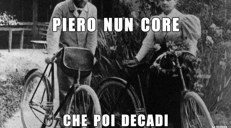Pierre Curie bicicletta
