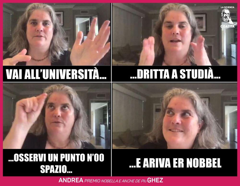 Andrea Ghez nobel