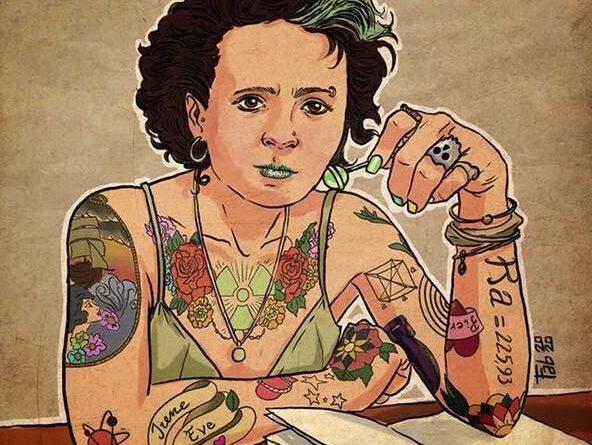 Marie Curie - Pupazzaro