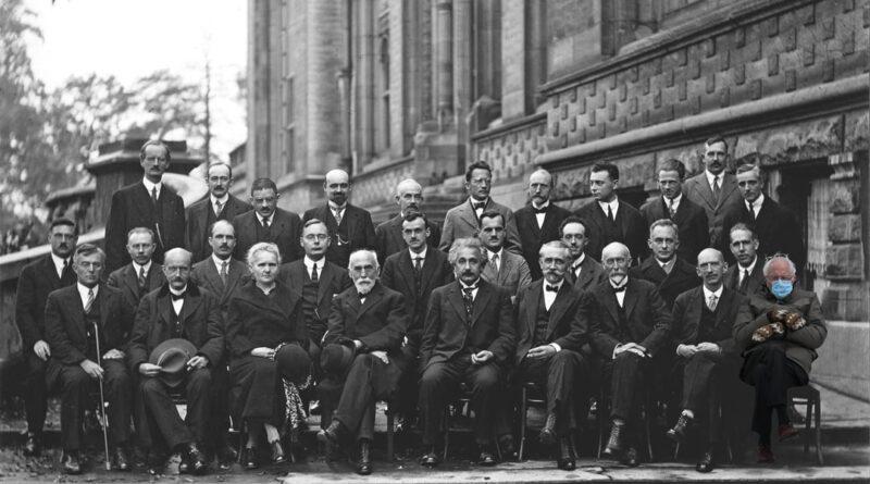 Solvay conference + Bernie Sanders